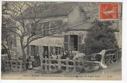 75 - PARIS - Vieux-MONTMARTRE - Cabaret Artistique Du Lapin Agile - Animée - 1914 (W182) - Cafés, Hôtels, Restaurants