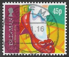 Isle Of Man 2016 Christmas 45p Self Adhesive Good/fine Used [39/32017/NDF] - Isle Of Man
