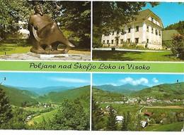 Poljane Nad Škofjo Loko In Visoko 1985 - Yougoslavie