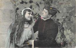 """Couple En Tenue """"Moyen Age"""" - Série Simple Idylle - Carte C.C.C. & C. Colorisée - Paare"""