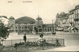 SUISSE BALE BASEL - Bundesbahnhot - BS Bâle-Ville