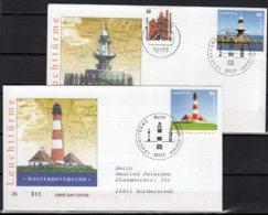 Bund FDC  2473 - 2474  Gelaufen - [7] République Fédérale