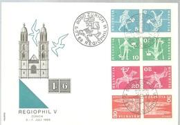 Postmarket  1968  Zurich - Marcofilia
