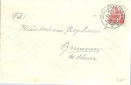 LETTER 1947  DIESSE HAFEN - Suiza