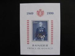 Monaco:  TB BF N° 82, Neuf XX . - Blocks & Sheetlets