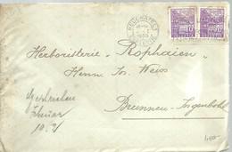 LETTER 1936 NEUCHATEL - Suiza
