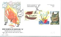 FDC ESPAÑA - Verano 1992: Barcelona