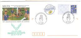15358 - 100 Anniversaire Scoutisme - Cartas