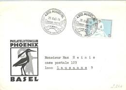 POSTMARKET  AUGUSTA  1965 - Marcofilia