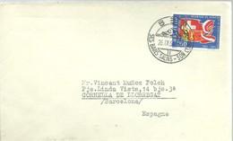 LETTER 1964   SES BAINS SALINS - Suiza