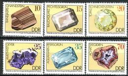 DDR - Mi 2006 / 2011 - ** Postfrisch (A) - Minerale - [6] Democratic Republic