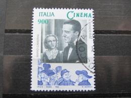 *ITALIA* USATO 1998 - ESP MOND GIORNATA CINEMA CAMERINI - SASSONE 2386 - LUSSO/FIOR DI STAMPA - 6. 1946-.. Repubblica