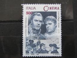 *ITALIA* USATO 1998 - ESP MOND GIORNATA CINEMA PIETRANGELI - SASSONE 2385 - LUSSO/FIOR DI STAMPA - 6. 1946-.. Repubblica
