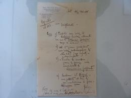 Ricetta  Farmaceutica Dott. FELICE BALDI Siena 1942 - Manoscritti