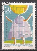 Mazedonien  (1999)  Mi.Nr.  174  Gest. / Used  (4ai33) - Mazedonien