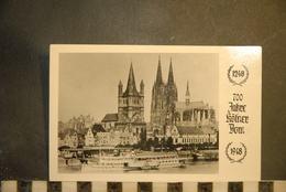 CP, ALLEMAGNE-Köln - 700 Jahre Kölner Dom, RARE - Koeln