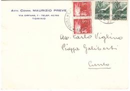 AVV.PREVE TORINO - 6. 1946-.. Repubblica