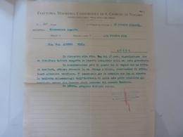 """Lettera  """"ESATTORIA TESORERIA CONSORZIALE DI S. GIORGIO NOGARO"""" 1934 - Italia"""