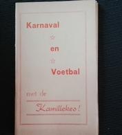 Aalst Carnaval Karnaval Voetbal Folklore 1979 - Livres, BD, Revues