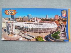 Ukraine. Kyiv. NSC Olimpiyskiy Stadium Long Format Aerial View - Stades