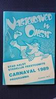 Aalst Carnaval Karnaval 1989 - Livres, BD, Revues