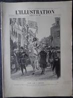 L'Illustration N° 3457 Du 29 Mai 1909  La Caravane Funéraire De L'Empereur Kouang-Su; La Petite Princesse De Hollande - L'Illustration