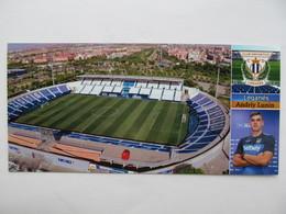 Spain. Leganés Estadio Municipal De Butarque Stadium And A.Lunin Aerial View - Stades