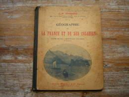 L H FERRAND  GEOGRAPHIE DE LA FRANCE ET DE SES COLONIES  COURS MOYEN - CERTIFICAT D'ETUDES  15e EDITIONS - Livres, BD, Revues
