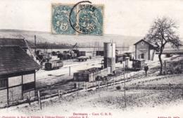 51 - Marne -DORMANS - Gare C.B.R ( Chemin De Fer Banlieue De Reims ) - Dormans