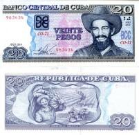 C__A 20 Pesos P 122  2014 **UNC** - Cuba