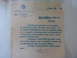 """Lettera Commerciale """"ISTITUTO NAZIONALE DI ASSICURAZIONI Agenzia Generale La Spezia"""" 1934 - Italia"""
