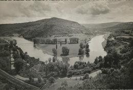 Baume - Les - Dames. (Doubs). Seltene AK S/w. Flußschleife, Panoramablick, Vogelperspektive, Frankreich - Ansichtskarten