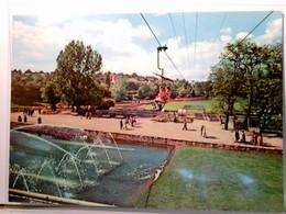 Höhenpark Killesberg. AK Farbig. Das Stuttgarter Gartenschau- Und Ausstellungsgelände. Mit Dem Sessellift über - Ansichtskarten
