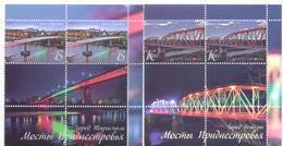 2018. Transnistria, Bridges Of Transnistia, 2 Sets With Labels, Mint/** - Moldavie