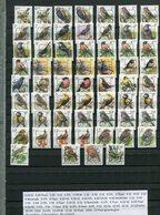 Belgie PREOS Precancels FULL SET All Papers & Gums RRR  Buzin Vogels Birds Oiseaux MNH - 1985-.. Oiseaux (Buzin)