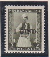 Albania 1942 - Costumi Costumes N. 37 MNH - 9. Occupazione 2a Guerra (Italia)