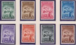 Albania 1943 - Health Antitubercolari 38/45 MNH - 9. Occupazione 2a Guerra (Italia)