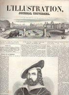 L'illustration Journal Universel N°326 Nouvelles étrangères - Plan De Rome - Calendrier Astronomique Illustré De 1849 - Journaux - Quotidiens