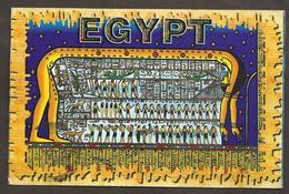 Egypt Egypte Egitto Egipto Egyptian Pharaoh King Tutankhamun Postcard Carte Postale SG 2031 Mi 1957X YV PA269 1998 - Ägypten