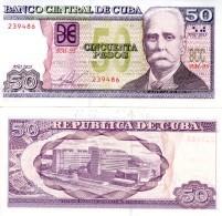 C__A 50 Pesos P 123  2015 **UNC** - Cuba