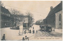 BASEL, BS - Claraplatz Und - Strasse - BS Bâle-Ville