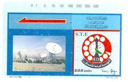 Syria Phonecards Used The S.T.E 500 Units - Syria