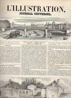 L'illustration Journal Universel N°325 Courrier De Paris - Jean De Leyde Chef Des Anabaptistes à Munster  De 1849 - Journaux - Quotidiens