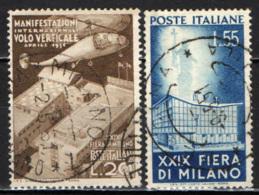 ITALIA - 1951 - 29^ FIERA DI MILANO - USATI - 6. 1946-.. Repubblica