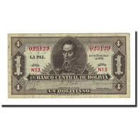 Billet, Bolivie, 1 Boliviano, 1928-07-20, KM:128a, NEUF - Bolivie
