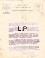 16-1378    1920  KELLY S DIRECTORIES A PARIS - France