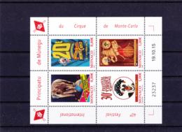 Monaco - 2016 - 3011 à 3014 - 40 Festival Du Cirque - Blocs