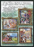 TAAF 2003 Bloc N° 9 ** ( 364/367 ) Neuf MNH Superbe C 12 €  Jeunesse Peintures Paintings Tableaux D' Urville Vénus Louis - Blocks & Kleinbögen