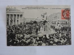 NANTES - Cavalcade Historique Juillet 1910 - Le Char Des Druides Et Du Dolmen Ret 228 - Nantes