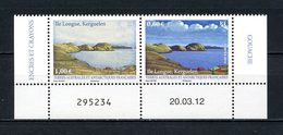 TAAF 2012  N° 628/629 ** Neuf MNH Superbe C 6,40 € Port-Jeanne D'Arc Ile Longue Kerguelen Dessins - Terres Australes Et Antarctiques Françaises (TAAF)